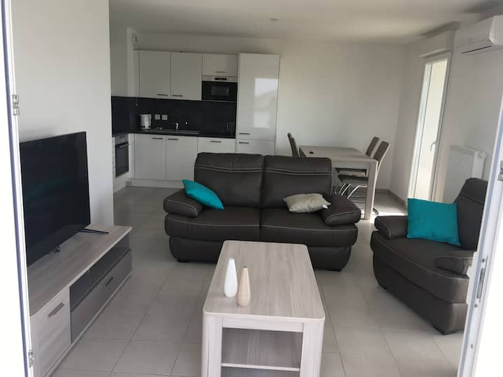 New 2 bedrooms  apartment in Evian les bains