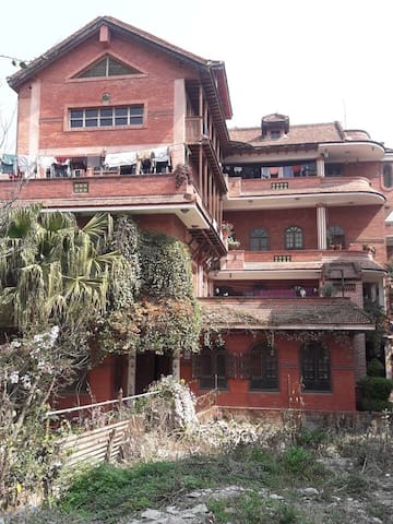 This place is designed as per the Newari Tradition