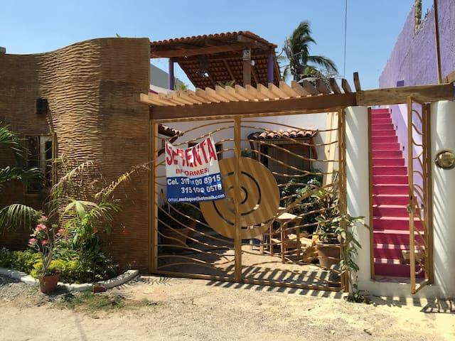 Casa  con vista al mar - San Patricio - House