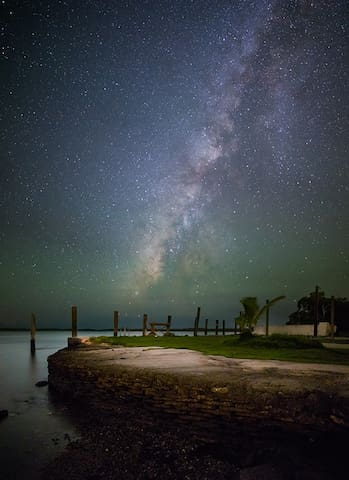 The Milky Way @ night
