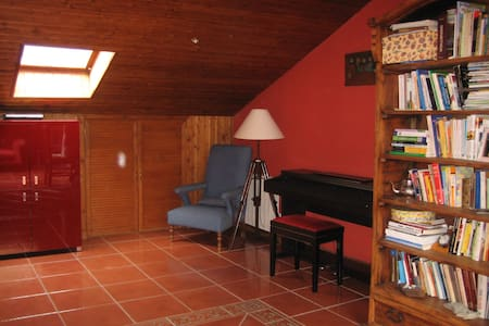 BUARDILLA 60M2 EN SIERRA MADRID  - Collado Mediano - Penzion (B&B)
