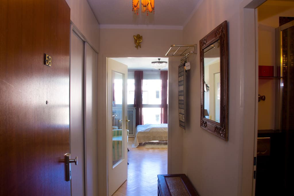 floor and entrance of the apartment