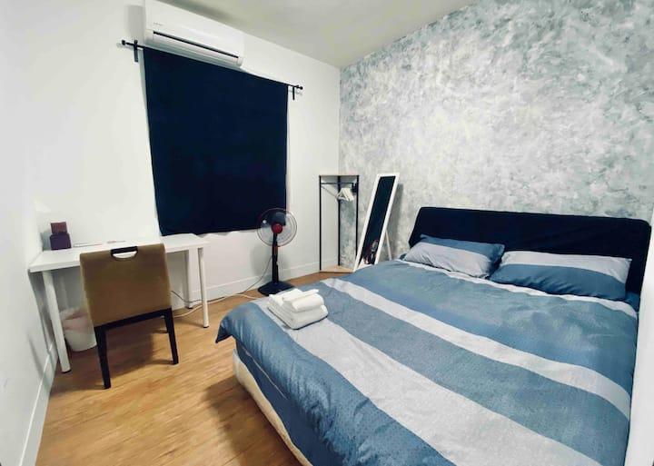 THIRD HOUSE × 極簡風臥室 / 近內湖捷運站步行2分鐘 / AIT美國在台協會7分鐘
