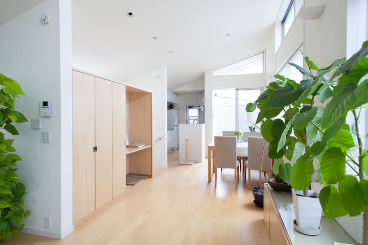 SHIBUYA 5 mins free wifi peaceful - Setagaya - House
