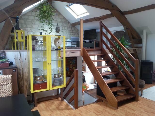 Nice Duplex, 2 steps from Paris - Nanterre - Apartment