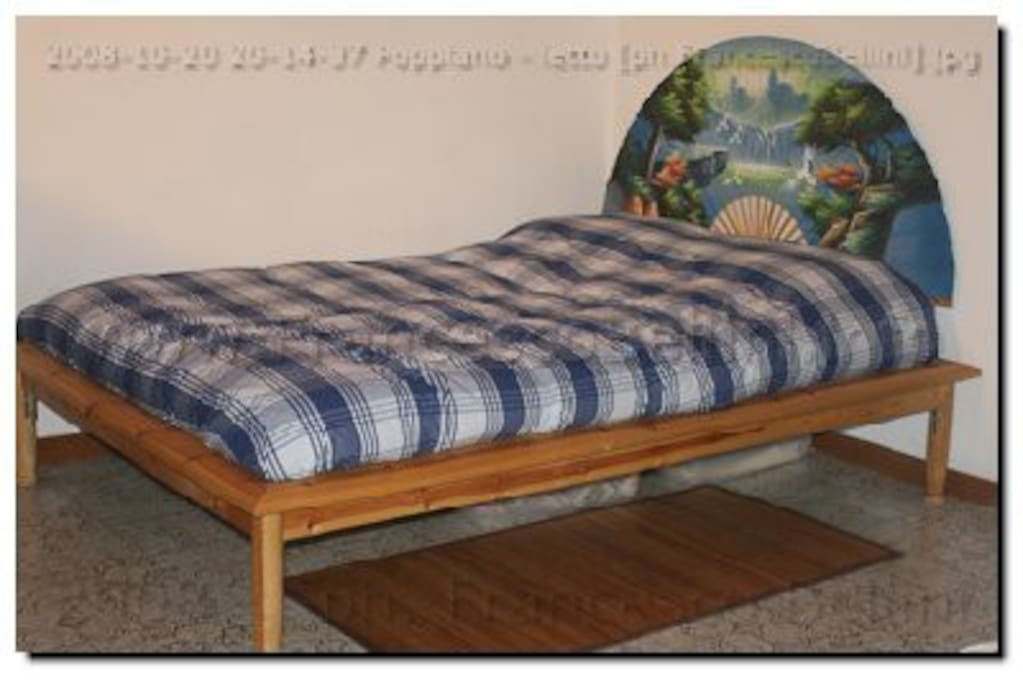 King size shared bed