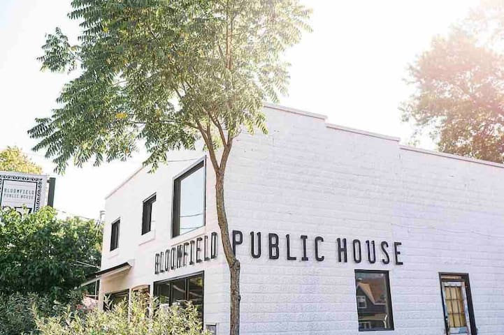 Bloomfield Public House is one of our favourites
