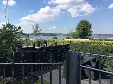 Skøn udsigt over Danmarks flotteste fjord.