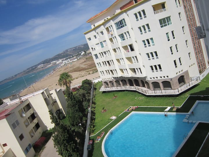 Loft view of the sea in Tangier