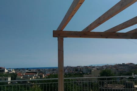 Attic with unlimited view - Kalamata