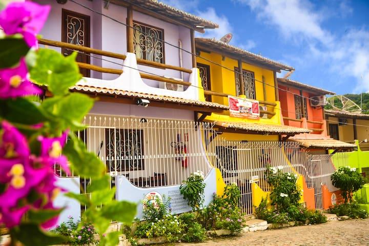 Apto Pipa Centro - próximo a praia e rua principal