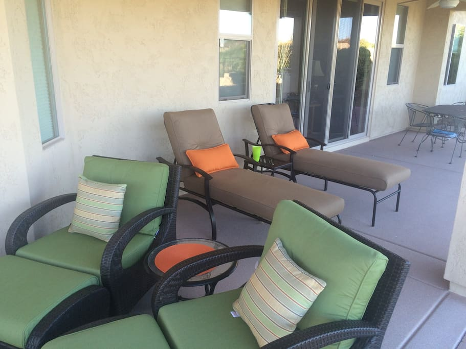 Super comfortable patio furniture