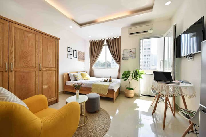 Cozy & comfortable Studio for couple vacation-D1