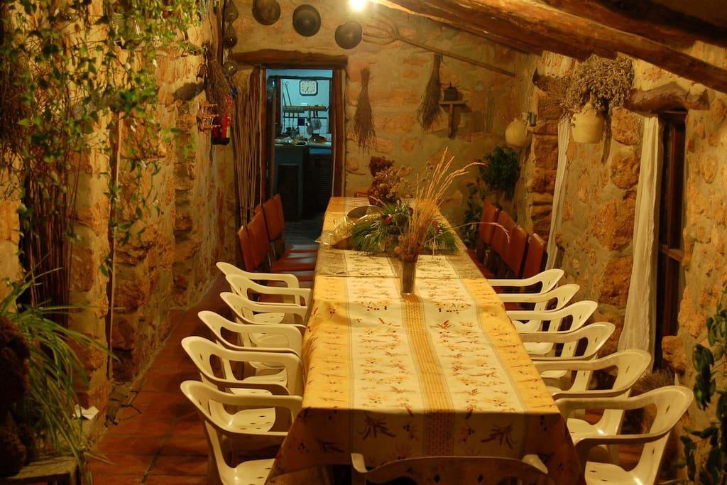 Casa rural de monta a para grupos familiares etc casas - Casa rural puebla de arenoso ...