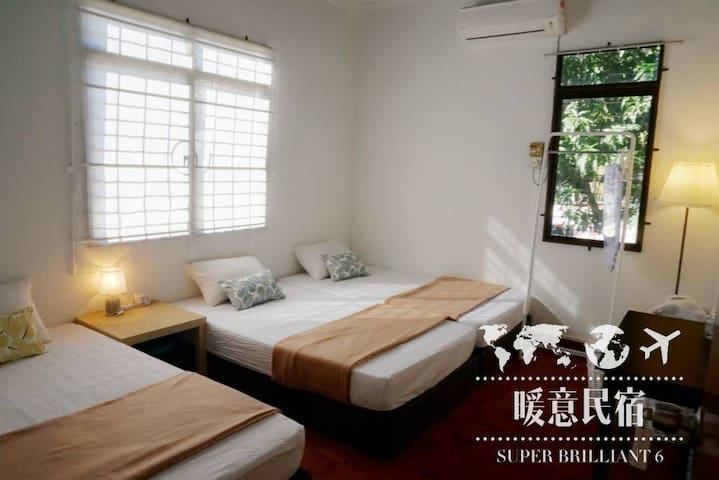 Scott Garden Double Rooms 3B, Georgetown Penang