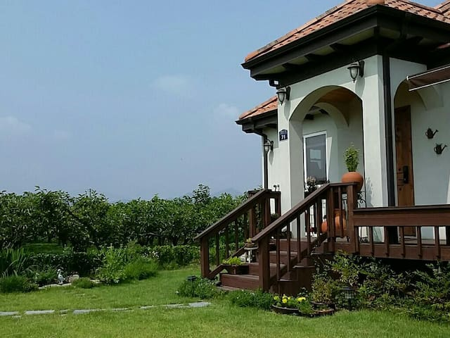 House with Persimmon field near Tamjin riverside - 장흥군 - Casa