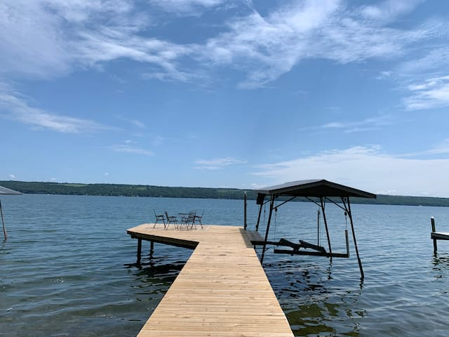 Cape Cod on Cayuga Lake West Shore
