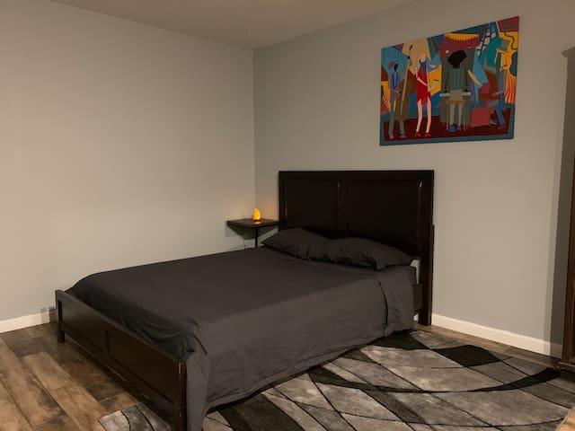 The Boiler Room. Comfortable, Clean & New Bedroom