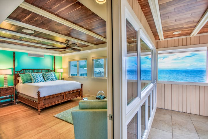 Welcome to Paina Hale – Oceanfront Beach House