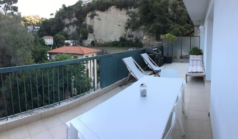 Wohnung in ruhiger Lage mit großer Terrasse