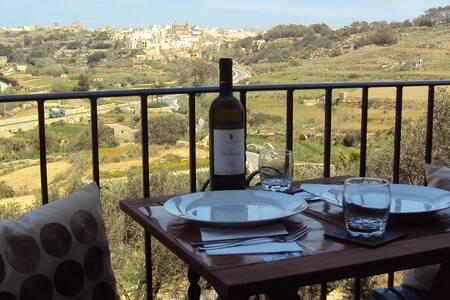 Valley view apartment in Gozo, Wifi - Munxar - Apartment - 1