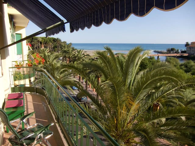 Riviera dei Fiori - panoramic view  - Ventimiglia - Apartment