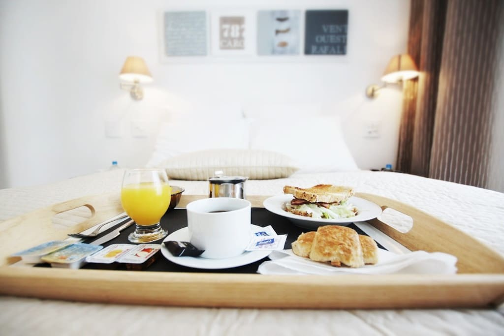 Breakfast can be brought in bed as well at your desired time ( optional)