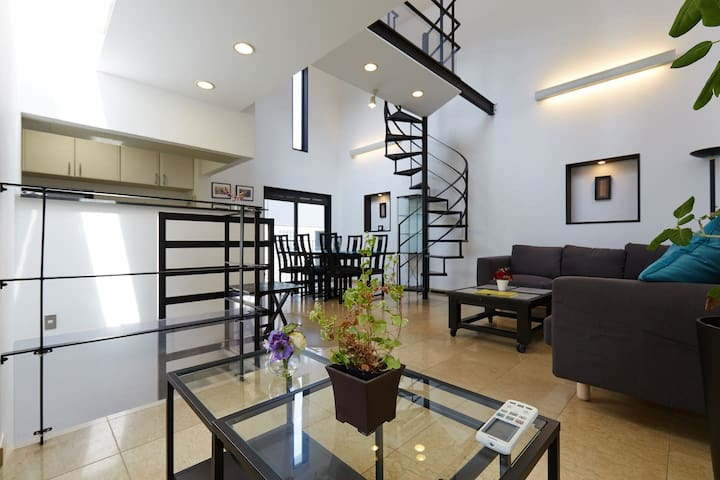 AWESOME 3 Story, 4 Bedroom Luxury HOME in AKASAKA! - Minato-ku - House