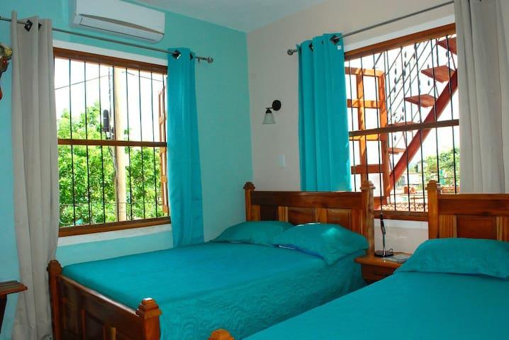 Vista de las camas Habitacion 2