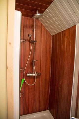 Sfeer badkamer vakantie woning
