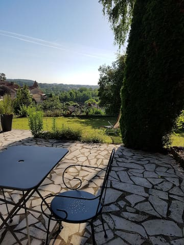 Your Holiday House in Aubeterre with amazing view!