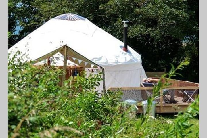 Beautiful yurt 2 on a secluded, coastal site - Talbenny - Yurt