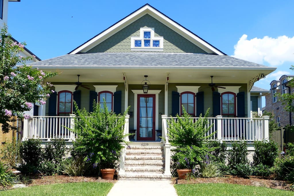 Chez amie inviting traditional new orleans home houses - 1 bedroom houses for rent in new orleans ...