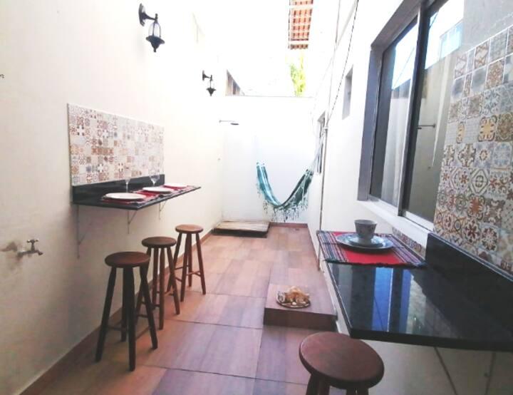 Apto com área gourmet em M. do Sol, V.  Velha - ES