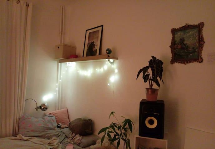 Room in Tempelhof between 2 Parks, quiet + 2 Cats