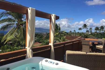 Sexy Guesthouse + 180° Sunsets + Your Own Hot Tub - Kihei