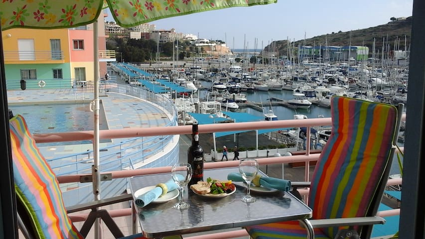 Front line apartment with amazing views pool wi-fi - Albufeira