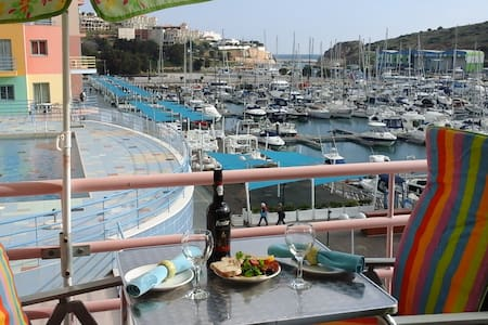 Front line apartment with amazing views pool wi-fi - Albufeira - Appartement