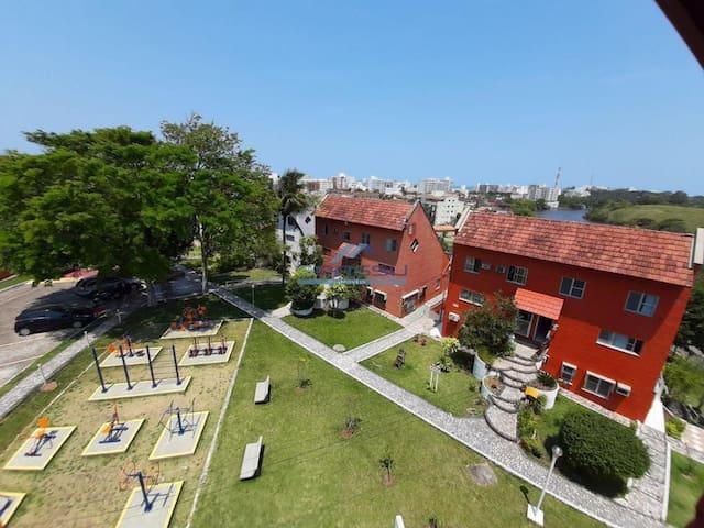 Nova Guarapari Apartamento com Vista para a lagoa.