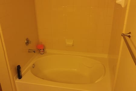 Private room/bath, queen size bed - Fort Worth - Apartment - 2