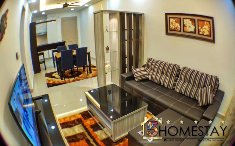 Luxury 5tar Stay @ Tebrau City - Johor Bahru - Lejlighed