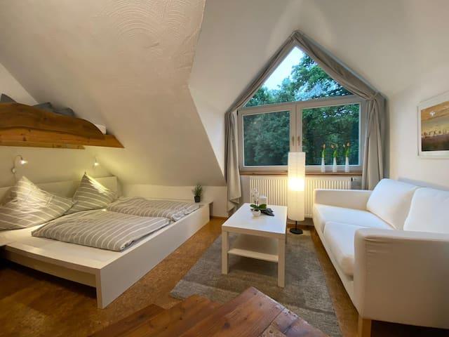 4. Gemütliches Doppelzimmer  mit Sauna & Badeteich