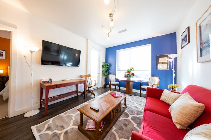 Charming Downtown condo : walk to everything