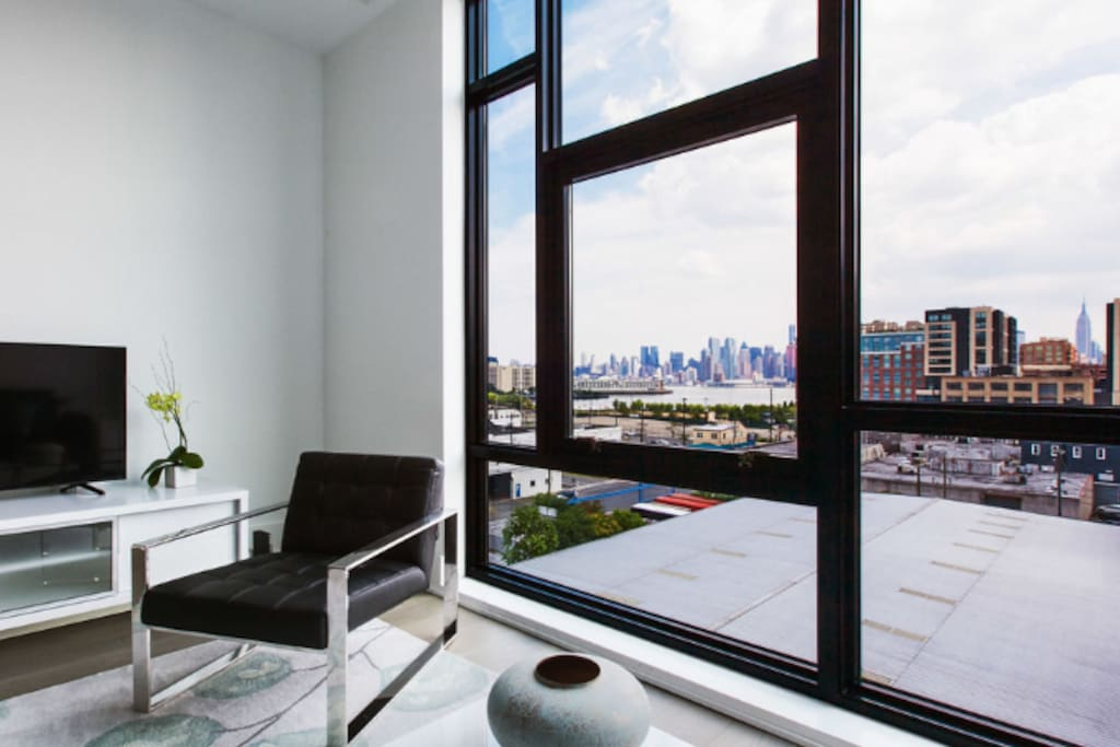 Standard One Bedroom Living Space And View