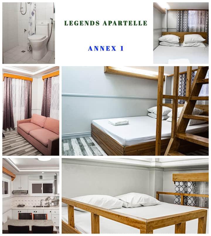 1-Bedroom Suite Annex 1, Legends Apartelle