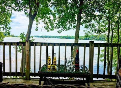 Beautiful House on Lake Champlain w/  Dock Slip