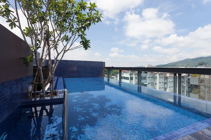 New and nice / Great location / Swimming pool ! - Su Thep - Lägenhet