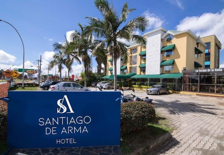 HOTEL SANTIAGO DE ARMA, CRUCE DE TODOS LOS CAMINOS