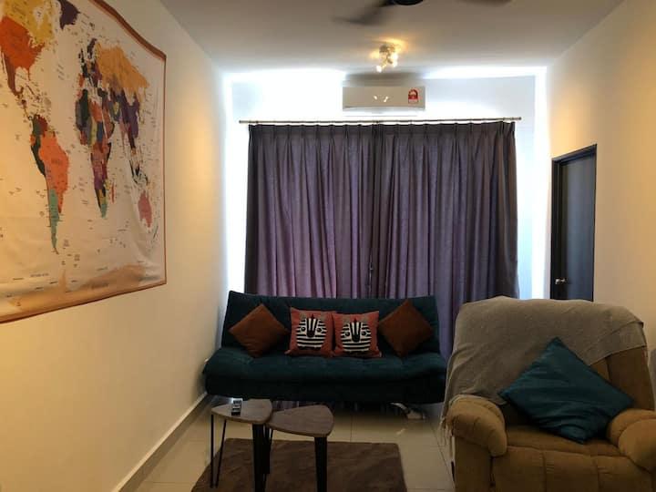 D' Tsen's Condo! 温馨宽敞的房子~ Cozy Condo & Welcome!