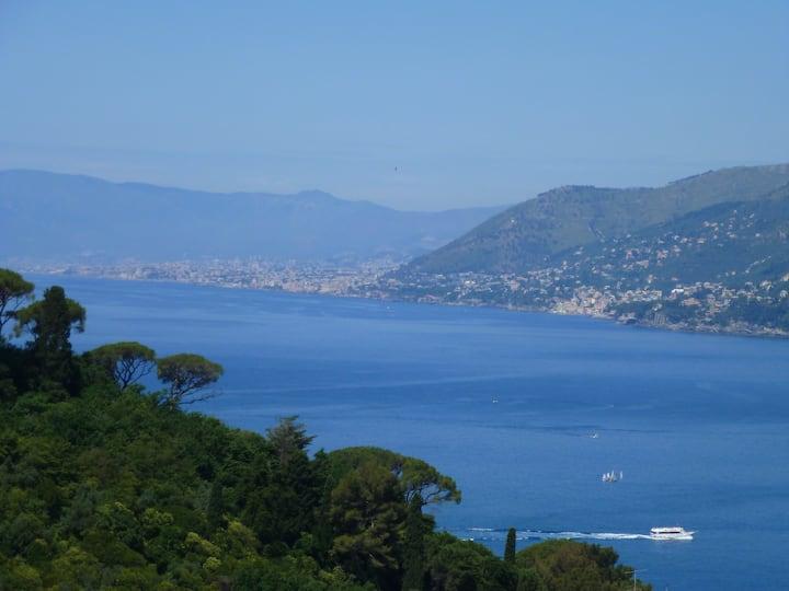 camogli sea view with little garden